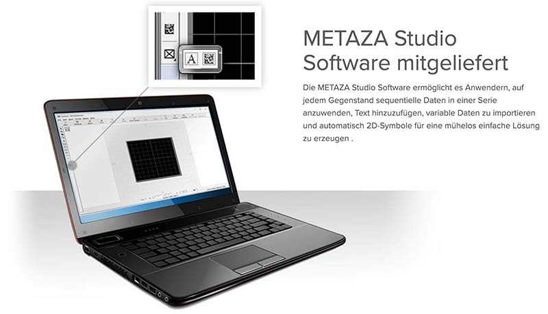 Metaza Studio Software für Gravuren