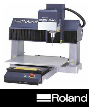 Roland 3D-Fräsen und 3D-Drucker