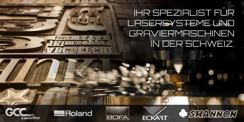 Laser-Graviermaschinen | Lasersysteme von gwerder.digital